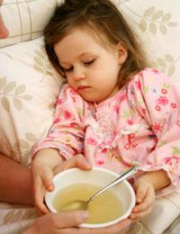 Чем кормить больного ребенка