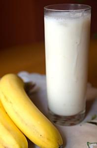 ласси напиток банановый