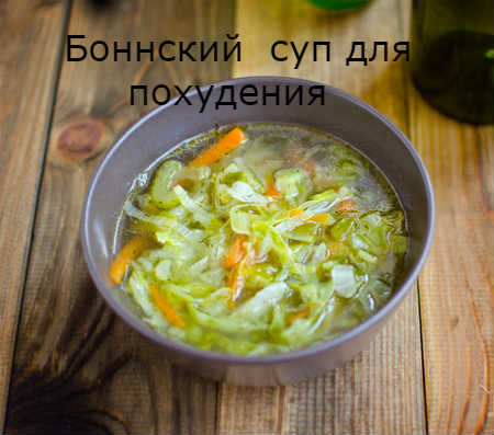 боннский суп рецепт