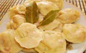 сырные пельмени