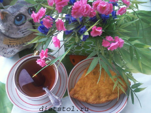 морковный кекс  фото