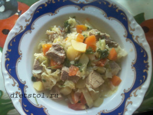 овощное рагу с мясом рецепт фото