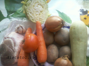 овощное рагу с мясом фото
