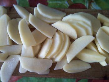 пряный картофель Cajun приготовление фото