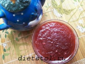 желе из красной смородины фото