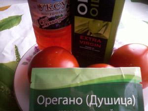 салат из свежих помидоров продукты