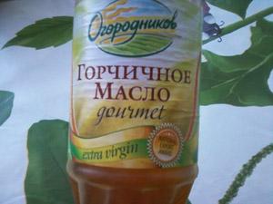 нерафинированное горчичное масло фото