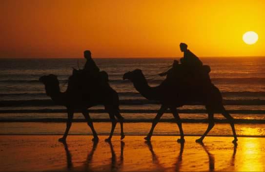 Марокко закат фото
