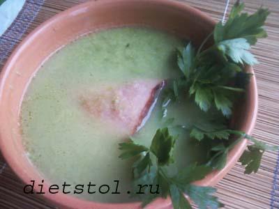 гороховый суп пюре фото