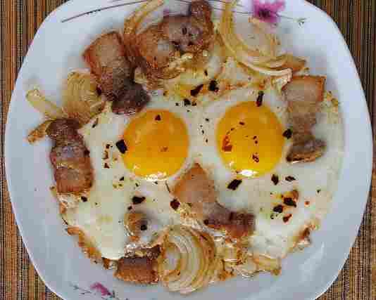 завтраки из яиц фото