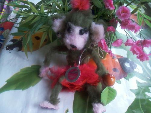 модная обезьянка hand made