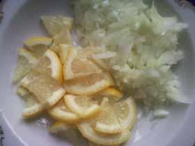 лук и лимон фото
