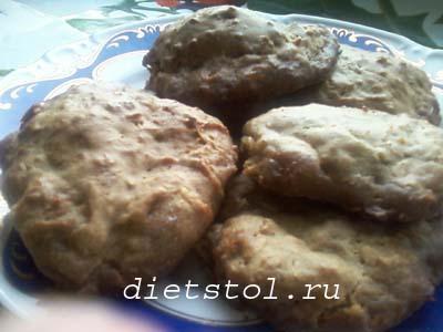 тыквенно овсяное печенье фото