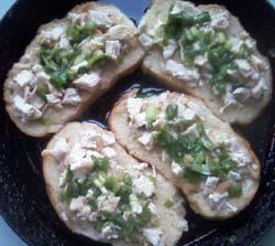 приготовление горячих бутербродов  в духовке фото
