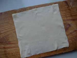 квадратики для яблочной выпечки