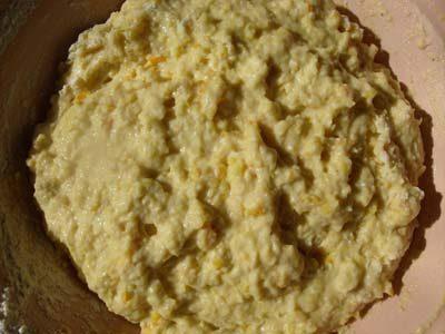 тесто для апельсинового печенья фото