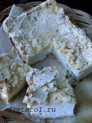 деревенский творожный пирог фото