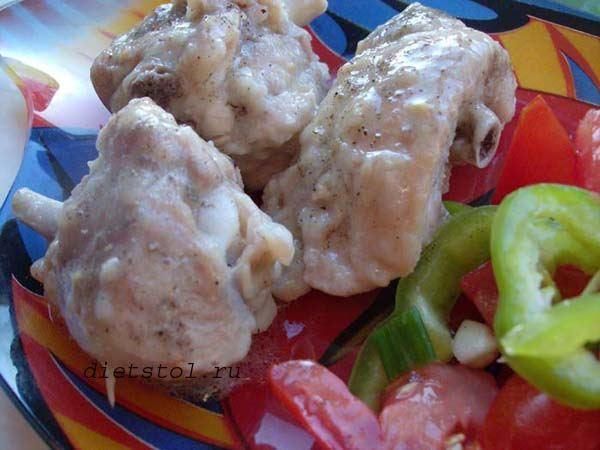 курица в чесночном соусе с мирином фото