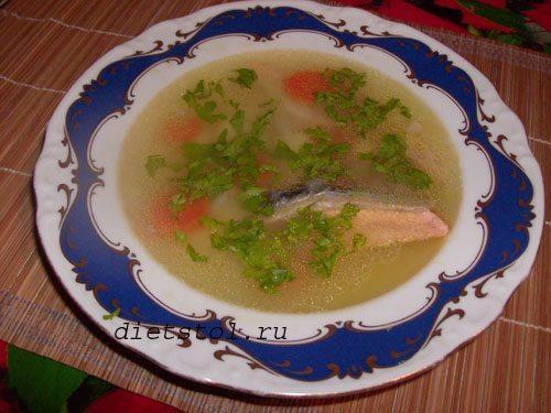 диетический суп из лосося фото
