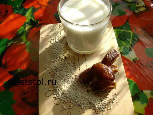 кунжутное молоко польза фото