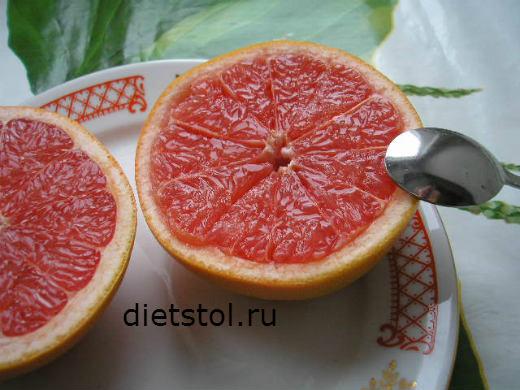 бодрящие десерты из грейпфрута фото