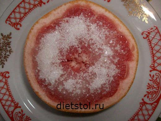 грейпфрут с сахаром фото
