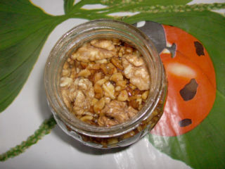 грецкие орехи с медом фото