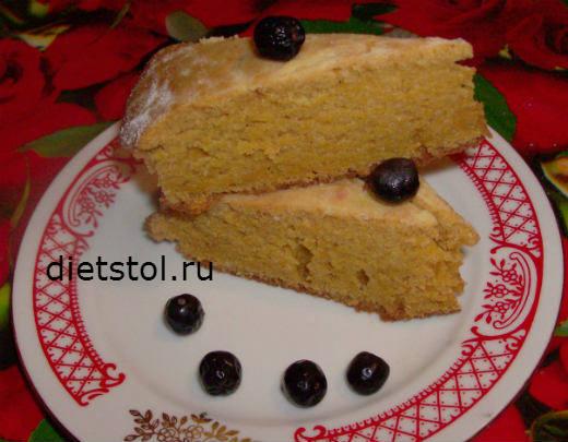 постный пирог без дрожжей фото