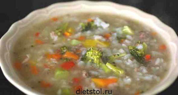 вкусная говядина с овощами и рисом по-корейски  фото