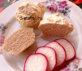 диетическое мясное суфле на пару рецепт