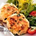 картофельные котлеты с куриным фаршем - фото и рецепт