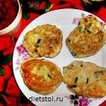 оладьи из кабачков с луком - рецепт и фото