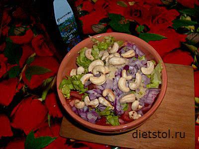 осенний салат - простой рецепт и фото