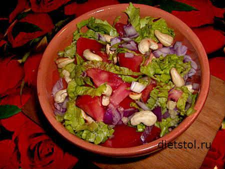 простой осенний салат - фото