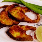 рыбное блюдо карп жареный на сковороде