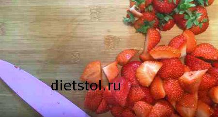 ингредиенты для клубничного крамбла фото