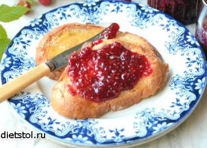 сырое малиновое варенье на зиму - рецепт заготовки и фото