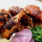 тандури чикен ( Tandoori chicken) фото