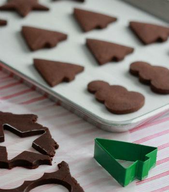 шоколадное печенье на День святого Валентина