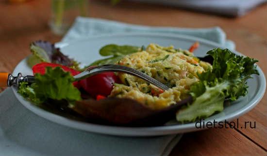 Кабачковое суфле рецепт