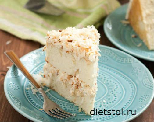 Безглютеновый торт рецепт