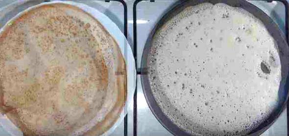 Рецепт приготовления блинов на молоке
