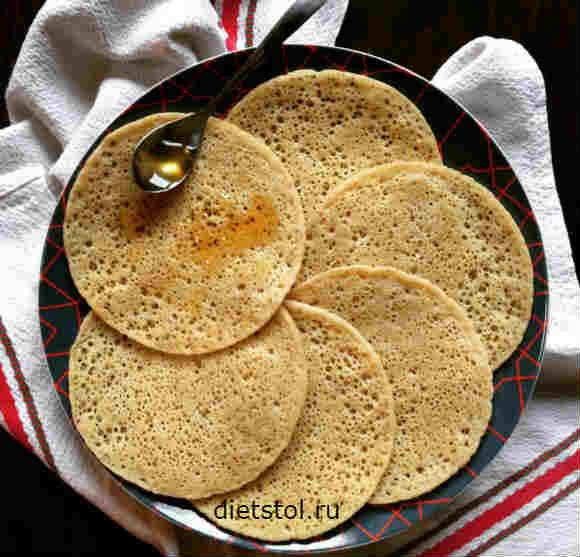 Марокканские блины рецепт