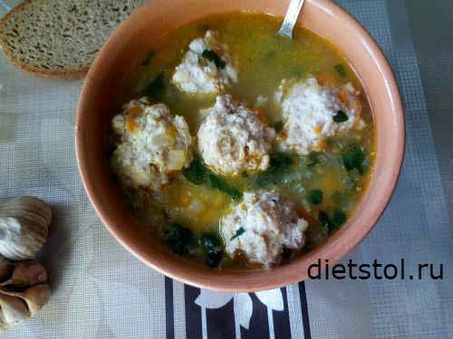 Суп с фрикадельками: ингредиенты