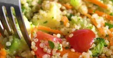 салат с киноа и авокадо рецепт