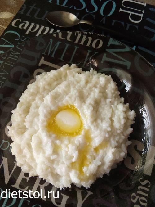 рисовая каша на молоке - фото к шагу 7