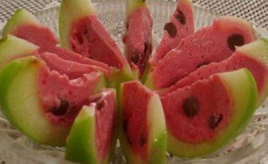 фруктовый десерт арбузные дольки