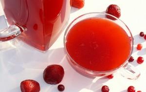 ягодный кисель