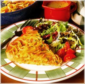 Zapekanka _Spaghetti  photo