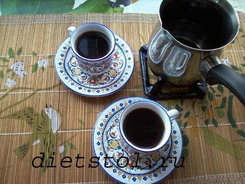 как заваривать кофе в турке фото